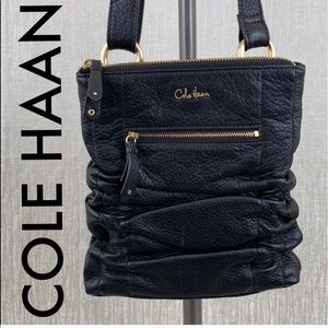 👑 COLE HAAN LEATHER CROSSBODY 💯AUTHENTIC